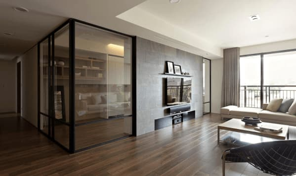 Glass Partitions for Home