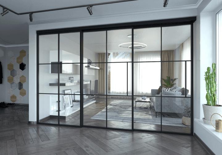 Steel Sliding Doors