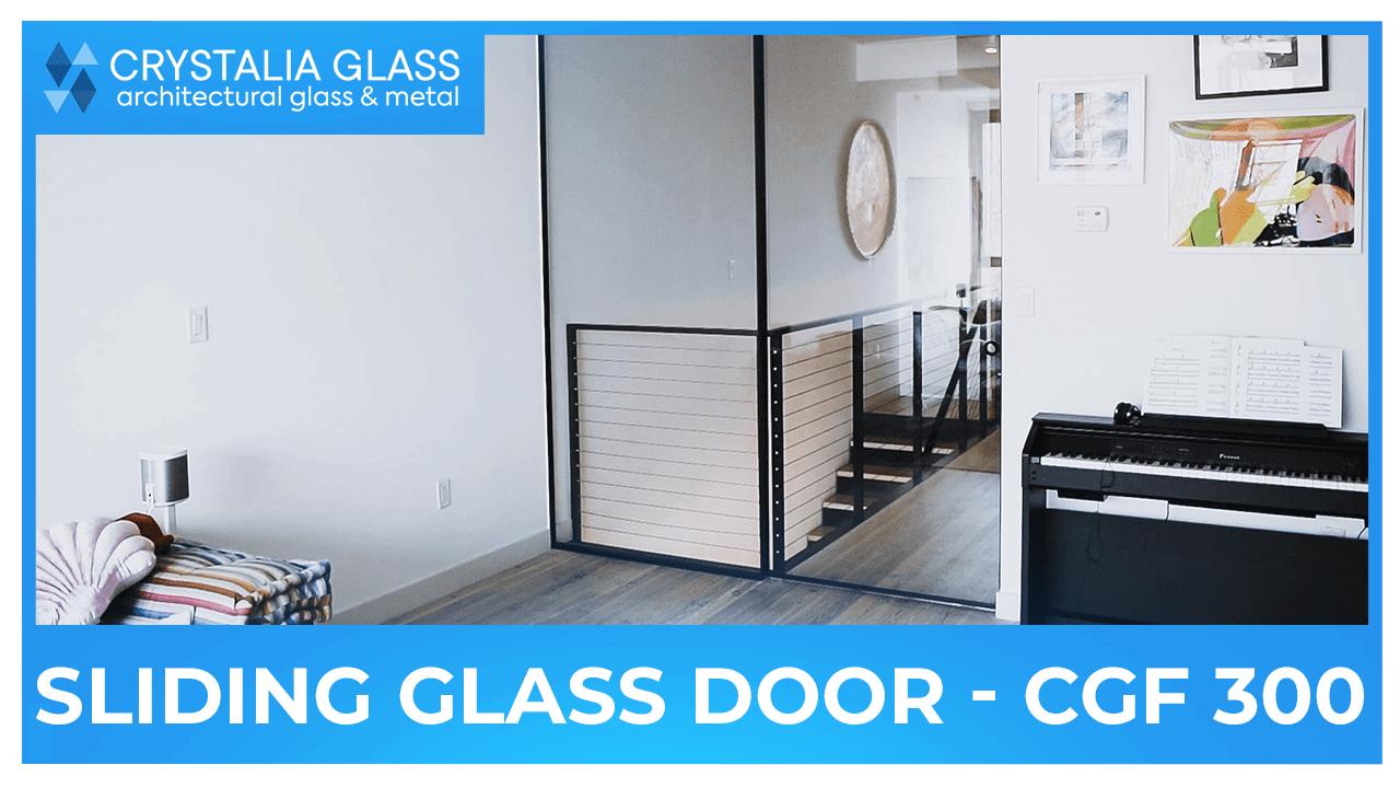 Sliding glass doors CGF 300