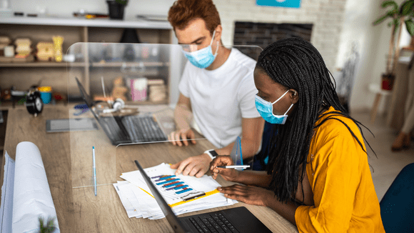 How the COVID-19 Pandemic Changes the Open Office Layout