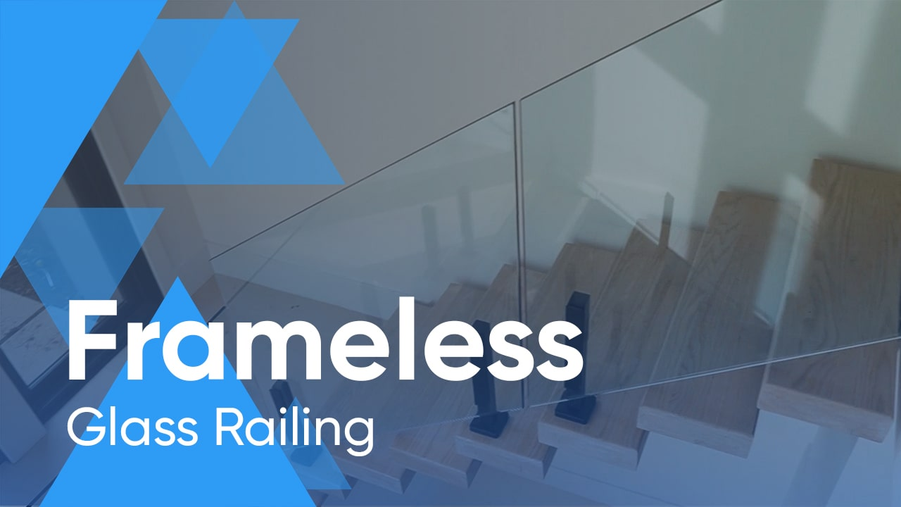 Frameless Glass Railing for Residence in New Jersey