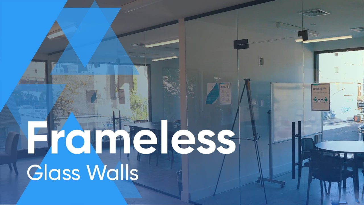 Frameless Glass Walls for Home and Office
