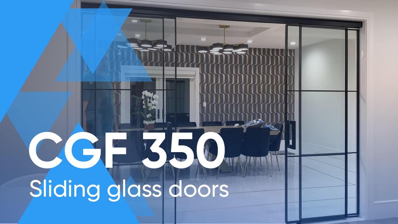 Sliding Glass Door Systems CGF 350