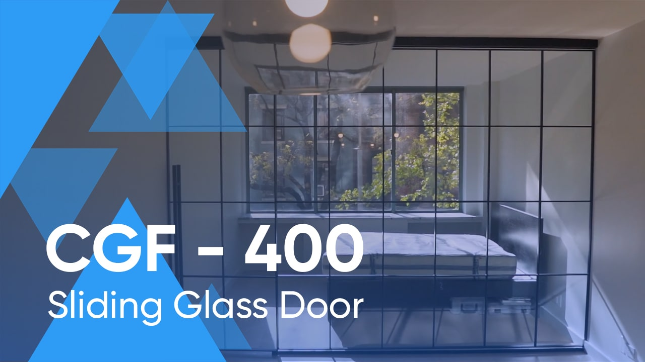 Sliding Glass Door CGF-400 for the Brooklyn Apartment