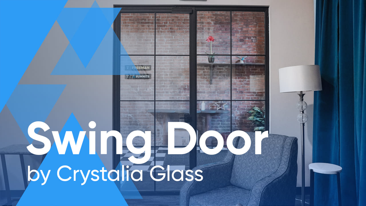 Crystalia Steel and Glass Bi-Folding and Swing Door Systems