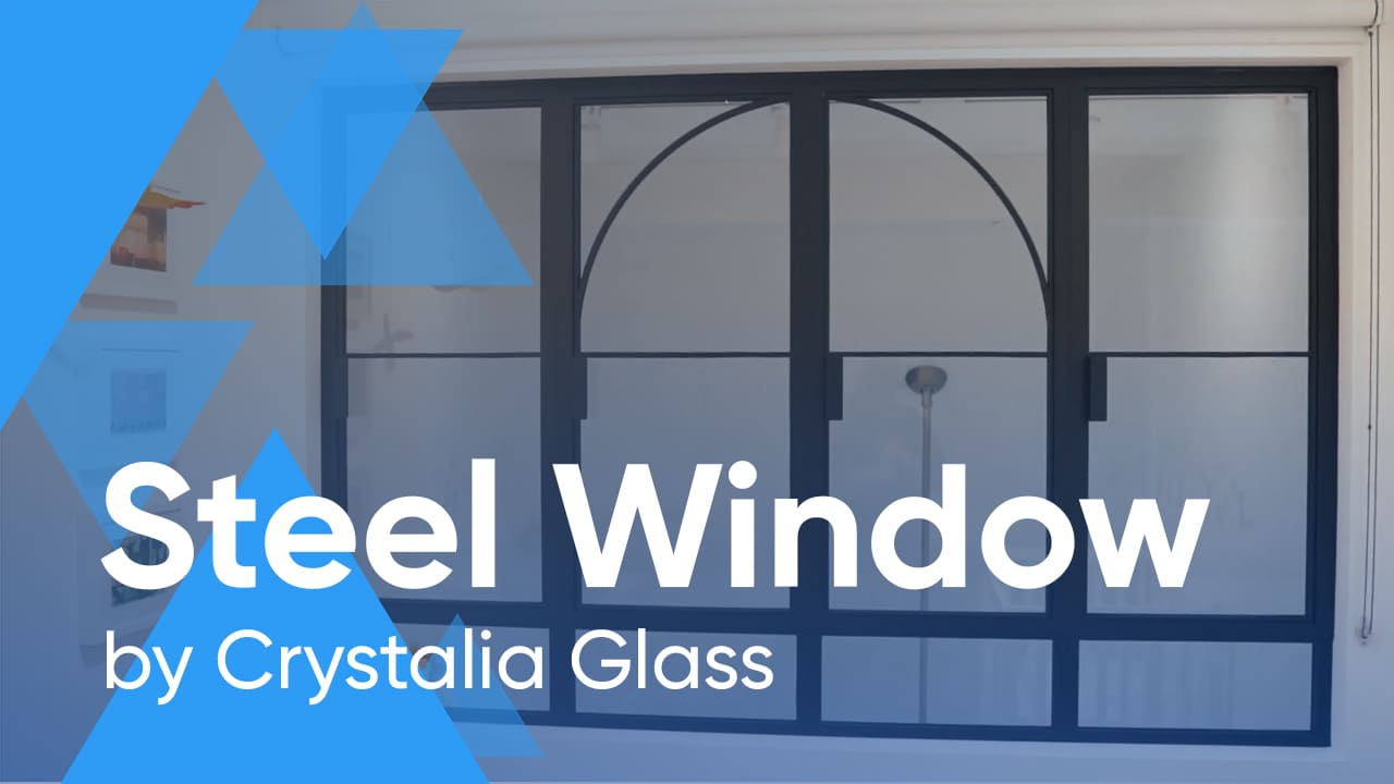 Steel Window with Custom Arched Design
